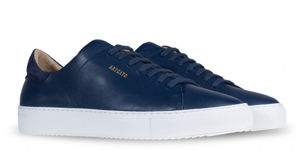 Clean 90 Sneaker, Navy Leather
